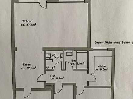 Erstbezug nach Sanierung mit Balkon: schöne 3-Zimmer-Wohnung, sehr ruhiges Wohnennin Hagen