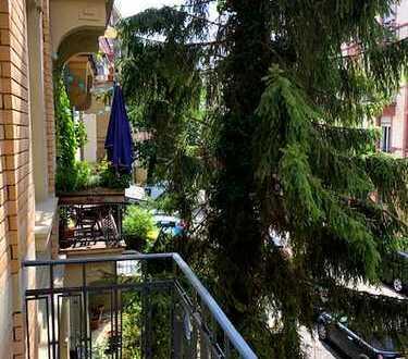 Fairmieten - Toplage in der Neckarstadt Ost: 3-Zimmer-Wohnung mit 2 Balkonen