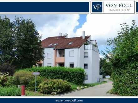 Für Immobilieneinsteiger oder Kapitalanleger: Gepflegte 2-Zi.-Wohnung mit Terrasse und TG-Stellplatz