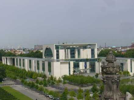 Schöne, geräumige ein Zimmer Wohnung in Berlin, Tiergarten, hell, Süd West, zur Untermiete