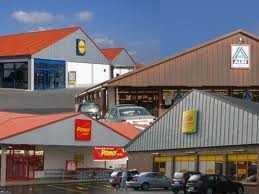 LIDL, ALDI, NETTO u. PENNY Lebensmitteldiscount-Märkte in NRW u.