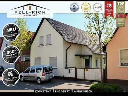 Bieterverfahren - MEINfamilienhaus: Einfamilienhaus mit großem Grundstück und Garten in Eggenstein