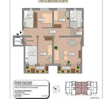 Bezug Anfang 2020 - 4-Zimmer Wohnung in gepflegter Anlage