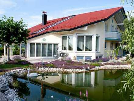 Exklusive Traum-Villa im Allgäu mit wunderbarem Weitblick auf Wald und Wiesen - PROVISIONSFREI
