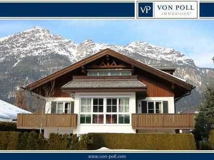 Exklusive Chaletwohnung mit fantastischem Bergblick