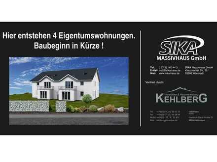 Neubau-Erstbezug ! 4 Zimmer Erdgeschosswohnungen in Wörrstadt