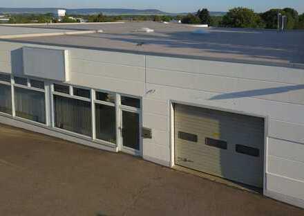 Halle für Produktion-Lager-Dienstleistung-Handel + Büro