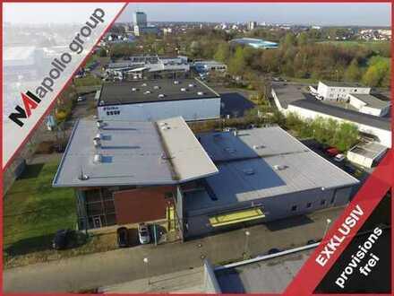 PROVISIONSFREI| TOP Objekt| ca. 1.000 m² Hallenfläche | ca. 700 m² Büro-/ Sozialfläche