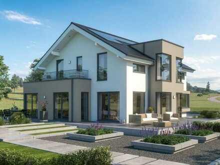 Ein großzügiges Musterhaus auf einem großzügigem Grundstück incl. Baugrundstück und Baunebenkosten