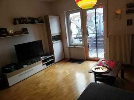 Helle 2-Zimmer-Wohnung zentral in Bensheim