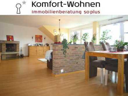 Wenn Sie das Besondere suchen … Modernisierte 4-Zimmer-Wohnung mit Kamin und zwei Loggien!