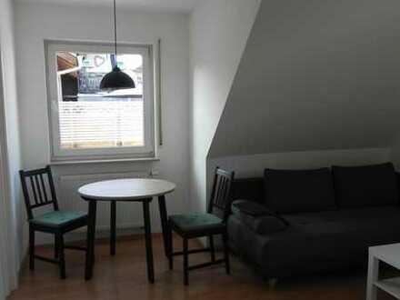 Möblierte renovierte 1-Zimmer-Wohnung in Ebersbach