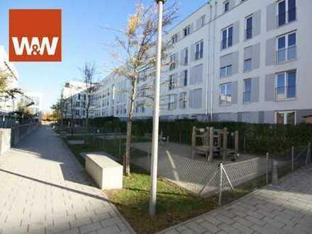 Sonnige 2 Zimmerwohnung mit großzügigen Westbalkon in München Riem