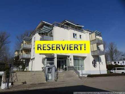 RESERVIERT! 2-Zimmer-Wohnung Nr. 11 mit Balkon in betreuter Senioren-Wohnanlage