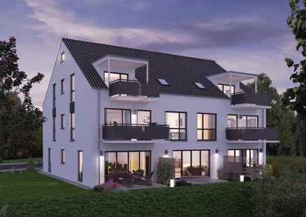 TOP-NEUBAU - 3-Zimmer-Maisonette-Wohnung mit kleinem Gartenanteil in Neukeferloh