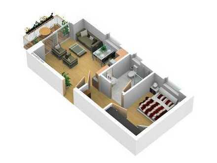 Moderne Zweizimmer-Wohnung in Neubau