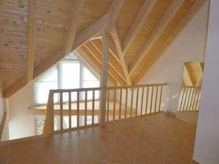 Neuwertige außergewöhnliche Maisonette-Wohnung in Niedrigenergiehaus