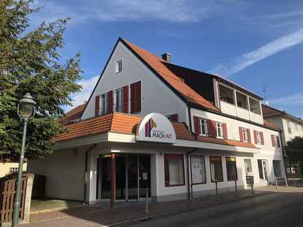 Erschwinglicher Wohnraum mit fünf Zimmern und Dachterasse mitten in Ottobeuren
