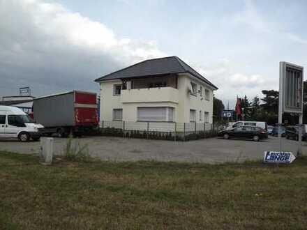 Imbiss Platz, KFZ Handel,Autohaus,Abstellplatz,