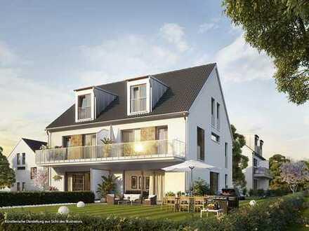 ERSTBEZUG: AUBING/LOCHHAUSEN, Premium DHH mit 5 Zi.- u. ca. 150m² Wfl., mit EBK