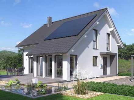 Schickes praktisches und lichtdurchflutetes Einfamilienhaus im Stil der klassischen Architektur