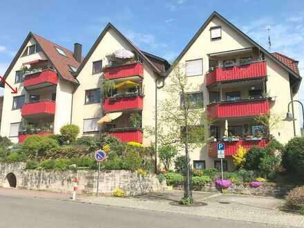 +++Sonnige 3-Zimmer-Wohnung mit Balkon in Großheppach+++