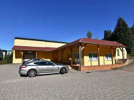 Vielseitig nutzbarer Gebäudekomplex mit Lagerhalle und Bürofläche!