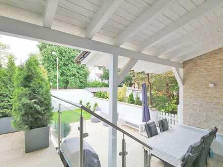 3,5 Zimmer Garten-Wohnung, saniert, teilmöbliert, mit Küche