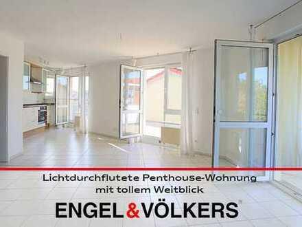Lichtdurchflutete Penthouse-Wohnung mit tollem Weitblick