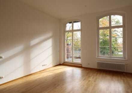 Im denkmalgeschützten Gebäude Jägervorstadt, 3-Zimmer-Wohnung, 2 Balkone inkl. Tiefgarage