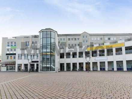 Attraktive Kapitalanlage zentral in Hennigsdorf: 2-Zi.-Wohnung in gepflegtem Wohn- & Geschäftshaus