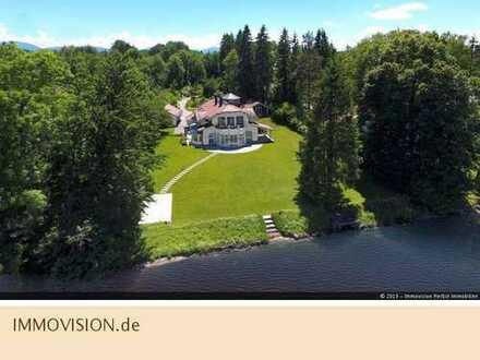 Direkte Seeufer-Villa