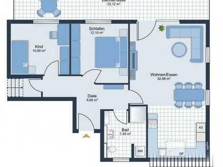 3-Zi.-Neubauwohnung in Bocholt zu vermieten