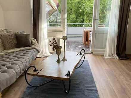 Möbliertes Wohnen auf Zeit  Geschmackvolle Wohnung mit drei Zimmern in Metzingen