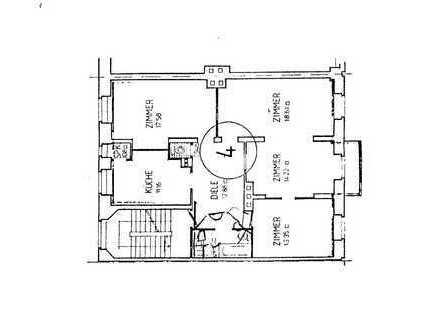Sonnige 3,5 Zimmerwohnung, 4.OG, ohne Aufzug, Bad, Gästeklo, begehbarer Schrank, Speisekammer