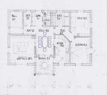 Günstige, gepflegte 5-Zimmer-Wohnung mit Balkon und Garten in Oberviechtach