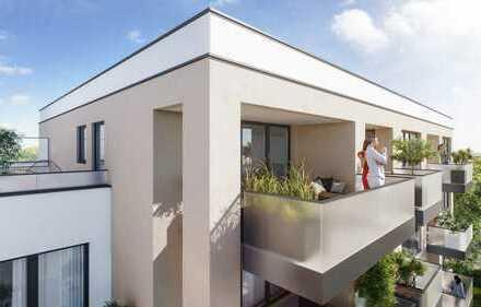 Penthousewohnung mit 14 m² großem Balkon