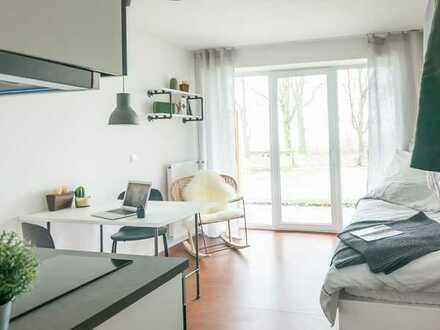 ParkCampus: Modern möbliertes 1-Zimmer-Apartment