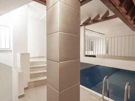 Außergewöhnliches Haus mit viel Platz*Teilgewerblich nutzbar*Schwimmbad*Sauna*Dachterrasse*Garten