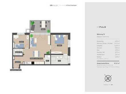 Schöne 3-Zimmer Wohnung mitten in der Stadt