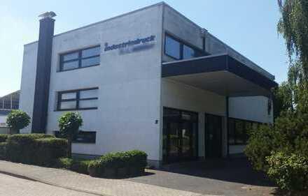 Gewerbehallen & Wohnhaus im Industriepark Mackenstein