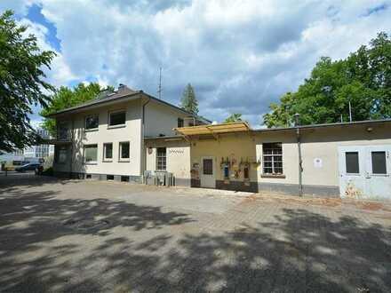 Top Anbindung! Flexibel nutzbares Geschäftshaus mit Werkstatt, Hof und Lager in Neu-Isenburg!