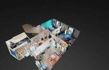Aachen-Zentrum: Freiwerdende 3-Zimmerwohnung ETW - WG-tauglich - mit 2 Balkonen