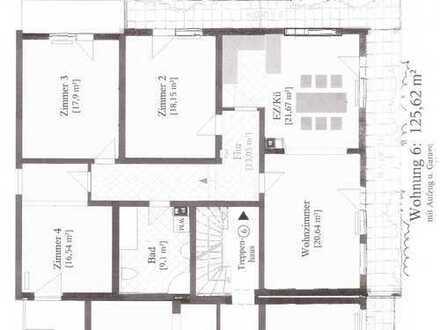 126m² - 4,5 Zi. Whg mit Balkon,Fahrstuhl,Garage & EBK in Forbach