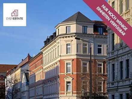 Provisionsfrei & frisch renoviert: 3-Zimmer-Altbauwohnung mit Balkon