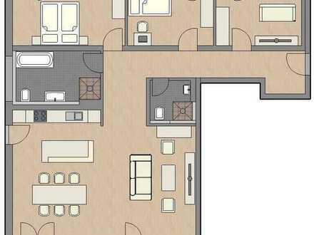 Erstbezug mit Balkon: exklusive 4-Zimmer-Wohnung in Dachau