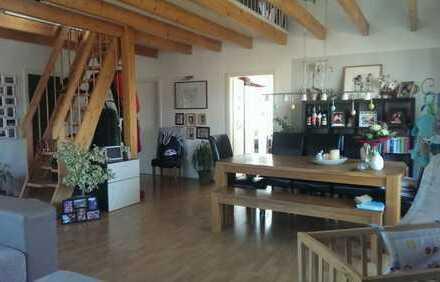 Ruhige + sonnige 3 Zi-Wohnung in schöner waldnaher Lage Viernheims, großer SW-Balkon