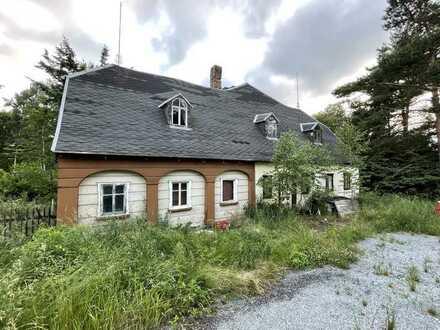 Umgebindehaus mit Grundstück und direkten Zugang zur Spree