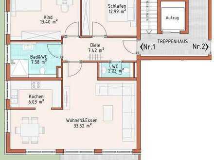 Neubauprojekt Harthausen - Haus 1 - Wohnung 1