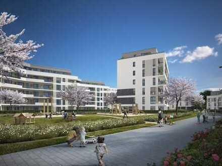 Gepflegte, 4 Zimmer- Familienwohnung mit 2 Balkonen, Fußbodenheizung, 2 Bädern und TG-Stellplatz